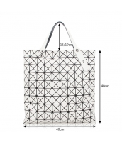 レディースバッグ ショルダーバッグ ハンドバッグ 2wayバッグ 幾何模様 菱柄 qa10030-6