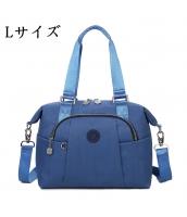 Lサイズ レディースバッグ ハンドバッグ ショルダーバッグ 2wayバッグ 防水 シンプル 大容量 qa10092-6