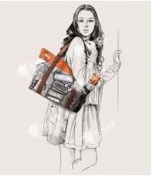 レディースバッグ トートバッグ ショルダーバッグ ハンドバッグ 2wayバッグ キャンバス 帆布 カジュアル 文芸調 qa10168-2