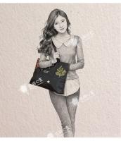 レディースバッグ ショルダーバッグ ハンドバッグ 2wayバッグ 刺繍入り 文芸調 ナイロン qa10249-1