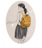 レディースバッグ バックパック リュックサック カジュアル 文芸調 ナイロン 学園風 コーディアイテム qa10281-2