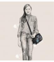 レディースバッグ 2wayバッグ ショルダーバッグ ハンドバッグ 刺繍入り 文芸調 ナイロン qa10308-1