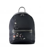 男女兼用バッグ バックパック リュックサック レディースバッグ メンズバッグ メタルデコ カジュアル 旅行 qa10369-1