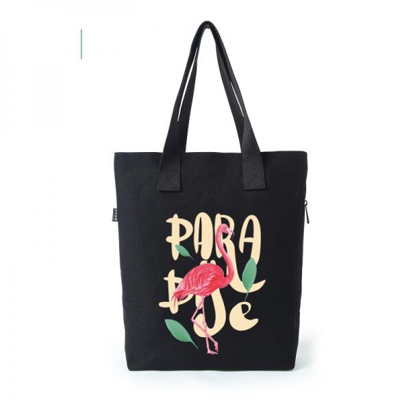 ショッピングバッグ レディースバッグ トートバッグ ハンドバッグ 男女兼用バッグ エコバッグ 文芸調 キャンバス 帆布 清楚 qa10404-22