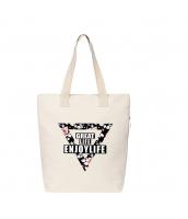 ショッピングバッグ レディースバッグ トートバッグ ハンドバッグ 男女兼用バッグ エコバッグ キャンバス 帆布 大容量 文芸調 qa10413-5
