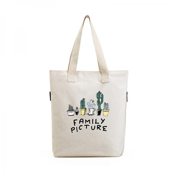 エコバッグ レディースバッグ トートバッグ ハンドバッグ 男女兼用バッグ エコバッグ キャンバス 帆布 大容量 ショッピングバッグ 文芸調 qa10416-10