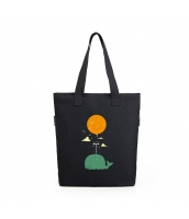 エコバッグ レディースバッグ トートバッグ ハンドバッグ 男女兼用バッグ エコバッグ キャンバス 帆布 大容量 ショッピングバッグ 文芸調 qa10416-12