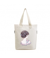 エコバッグ レディースバッグ トートバッグ ハンドバッグ 男女兼用バッグ エコバッグ キャンバス 帆布 大容量 ショッピングバッグ 文芸調 qa10416-23