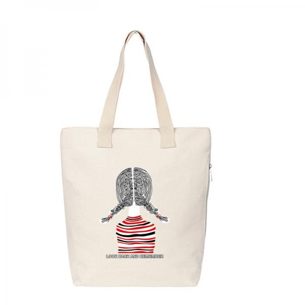 エコバッグ レディースバッグ トートバッグ ハンドバッグ 男女兼用バッグ エコバッグ キャンバス 帆布 大容量 ショッピングバッグ 文芸調 qa10416-7
