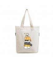 ショッピングバッグ レディースバッグ トートバッグ ハンドバッグ 男女兼用バッグ エコバッグ 学園風 清楚 キャンバス 帆布 文芸調 qa10435-27