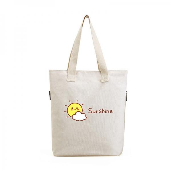 ショッピングバッグ レディースバッグ トートバッグ ハンドバッグ 男女兼用バッグ エコバッグ キャンバス 帆布 文芸調 シンプル 清楚 カジュアル 大容量 qa10443-10