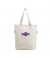 ショッピングバッグ レディースバッグ トートバッグ ハンドバッグ 男女兼用バッグ エコバッグ 大容量 可愛い キャンバス 帆布 学園風 qa10445-1
