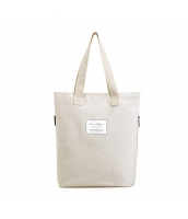 ショッピングバッグ レディースバッグ トートバッグ ハンドバッグ 男女兼用バッグ エコバッグ 文芸調 大容量 シンプル キャンバス 帆布 qa10453-3