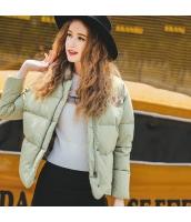 ガーベラレディース スタンドカラー 刺繍 長袖 コーデアイテム ショート丈 ダウンジャケット rp10061-1
