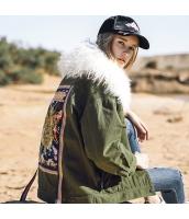 ガーベラレディース ハイエンド ファー襟 アウター 刺繍 ゆったり ダウンジャケット ステンカラージャケット rp10405-1