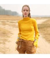ガーベラレディース レトロ タートルネック 刺繍 ワイド袖 ニットウェア セーター 長袖 rp10531-1