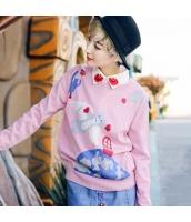 ガーベラレディース ニット・セーター セーター 長袖 かわいい rp10686-1