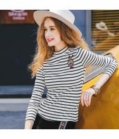 ガーベラレディース Tシャツ 長袖 ワッペン刺繍 rp10721-1