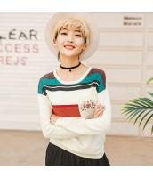ガーベラレディース ニット・セーター セーター 長袖 刺繍入り rp10846-1