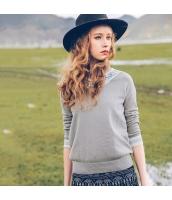 ガーベラレディース ニット・セーター セーター 長袖 刺繍入り rp10849-1