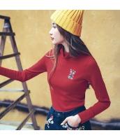 ガーベラレディース ニット・セーター セーター 長袖 刺繍入り rp10851-1