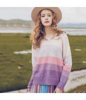ガーベラレディース ニット・セーター セーター 長袖 刺繍入り rp10935-1