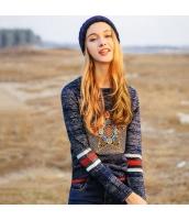 ガーベラレディース ニット・セーター セーター 長袖 刺繍入り rp10951-1