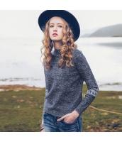ガーベラレディース ニット・セーター セーター 長袖 刺繍入り rp10972-1