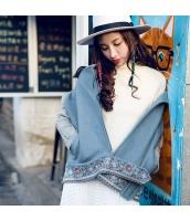 ガーベラレディース フリースジャケット ステンカラー 刺繍入り rp11263-1