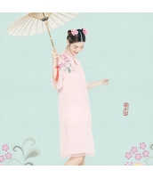 ガーベラレディース チャイナドレス ミディアムドレス 刺繍入り rp11286-1