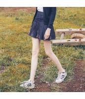 ガーベラレディース デニムスカート ミニスカート 刺繍入り rp11489-1