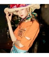 ガーベラレディース Tシャツ カットソー 半袖 ゆったり 刺繍入り 春物 rp12067-2