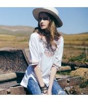 ガーベラレディース Tシャツ カットソー 着やせ 刺繍入り 春物 rp12115-1