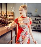 ガーベラレディース ミニワンピース 半袖 タイトワンピース チャイナードレス風 春物 rp12223-1