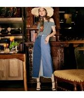 【デニムスカート】タイトスカート【ロングスカート】マキシスカート【フリンジ裾】夏物 rp12361-1