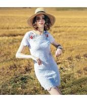 【ミニワンピース】半袖【タイトワンピース】シフォン【刺繍入り】夏物 rp12504-1