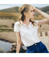【シャツ】半袖【刺繍入り】夏物 rp12832-1