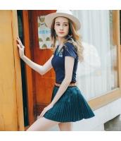 【タイトスカート】ミニスカート【刺繍入り】夏物 rp12843-1