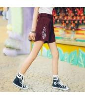 【ショートパンツ】ホットパンツ【シフォン】刺繍入り【夏物】 rp12845-1