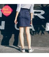 【デニムスカート】タイトスカート【ミニスカート】紺【ネイビー】夏物 rp12948-1