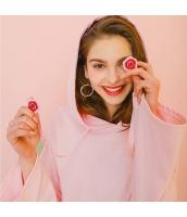 【プルオーバーパーカー】長袖【桃色】ピンク【刺繍入り】春物 rp12968-1