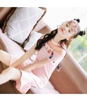 【ミニワンピース】半袖【フレアワンピース】可愛い【桃色】ピンク【夏物】 rp12988-1
