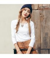 ガーベラレディース 刺繍 ホロー コーデアイテム Tシャツ・カットソー 長袖 rp9492-4