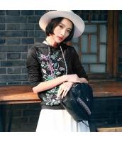 ガーベラレディース 紐調節 刺繍 カジュアル プルオーバーパーカー 長袖 rp9614-2