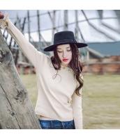 ガーベラレディース 丸首 刺繍 コーデアイテム ニットウェア セーター rp9753-1