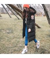 ガーベラレディース フード付き 刺繍 ジップアップ 長袖 コーデアイテム ダウンコート ロング丈 rp9886-1