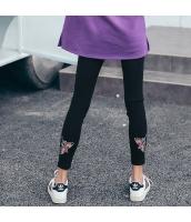 ガーベラレディース 刺繍 着やせ レギンス rp9961-1