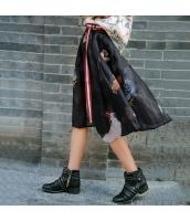 ガーベラレディース コーデアイテム Aライン 着やせ シフォン フレアスカート 膝丈 rp9983-1