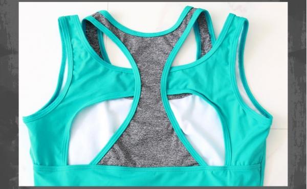 ヨガ フィットネス トレーニング ベスト+パンツ(7分丈)2点セット アンサンブル スポーツウェア ピラティス ジム ダンス ランニング シェイプアップ ダイエット smq6305-2