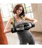 ヨガ フィットネス トレーニング ベスト+パンツ(7分丈)2点セット アンサンブル スポーツウェア ピラティス ジム ダンス ランニング シェイプアップ ダイエット smq6308-2